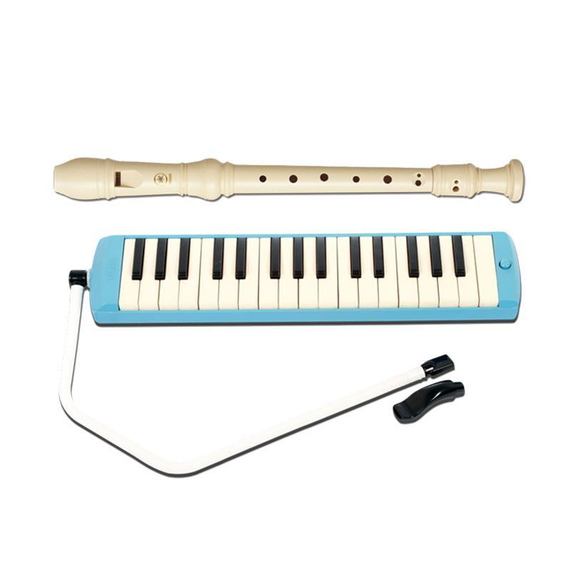 Yamaha P-32 Pianika dan YRS-23 Recorder Alat Musik P32YRS23