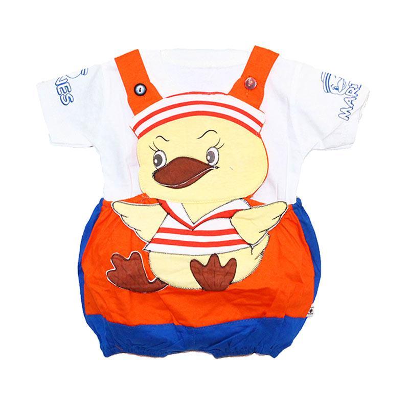 harga Hayami Baju Kodok Bayi Sailor Duck Orange Blibli.com