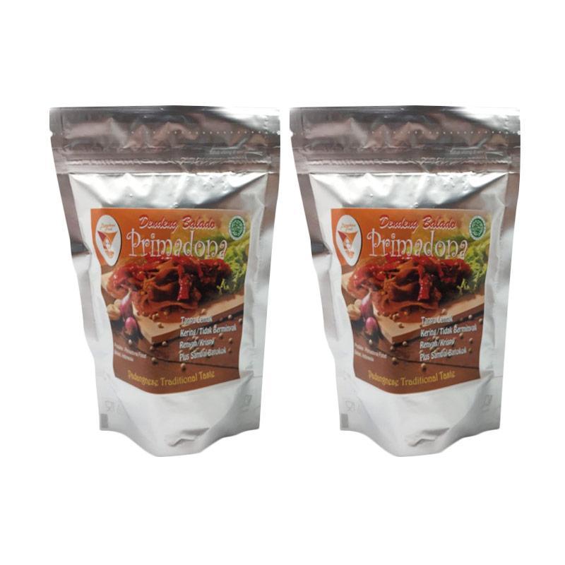 Primadona Food Dendeng Balado [2 pack]