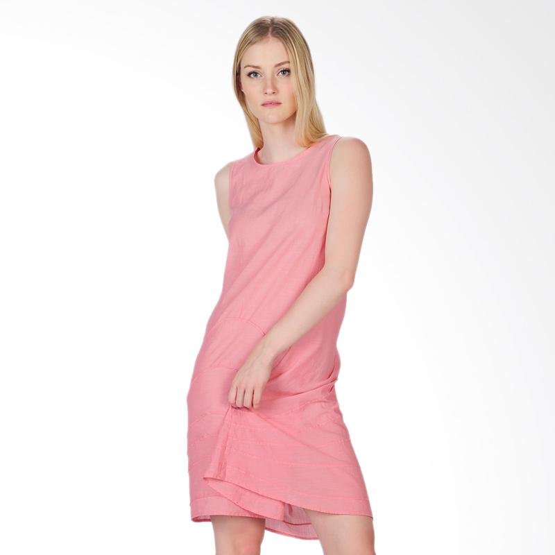 SJO's Genoa Women's Dress - Pink