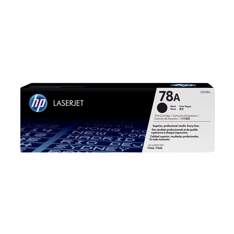 harga HP 78A Original LaserJet Toner Cartridge - Black Blibli.com