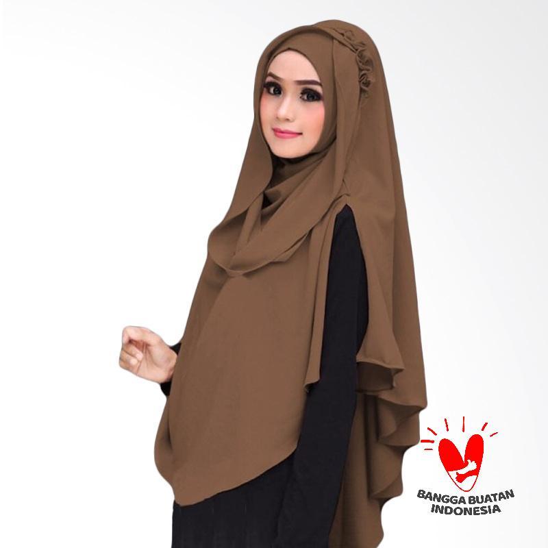 Milyarda Hijab Khimar Al Zaina Kerudung Instan Syar'i - Milo