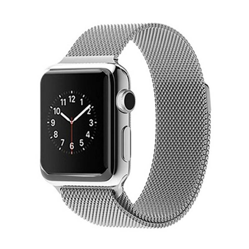 OEM Milanese Braclet Band for Apple Watch 42mm - Silver