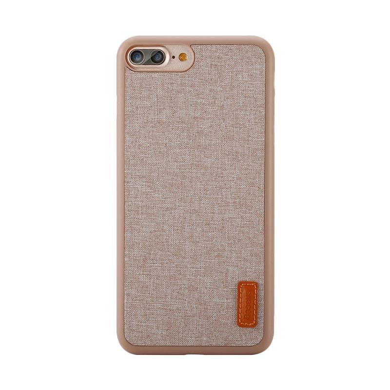 Baseus Grain Casing for iPhone 7 Plus - Khaki