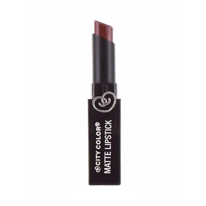 City Color Matte Lipstick - Toffee