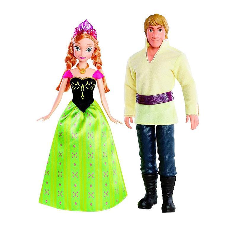 harga Disney Frozen Anna and Kristoff Boneka Blibli.com