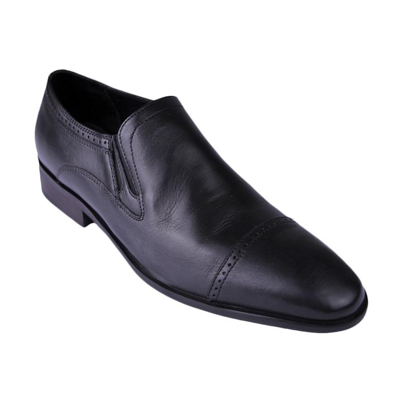 Ftale Footwear Corleone Mens Shoes Sepatu Pria - Black