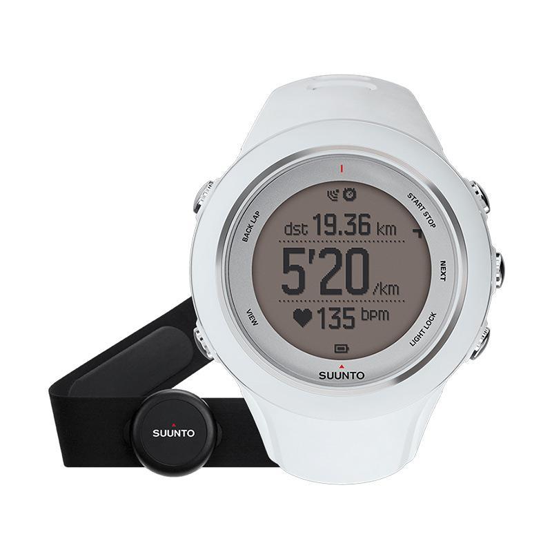 Suunto Ambit3 Jam Tangan Sport - White HR-SS020680000