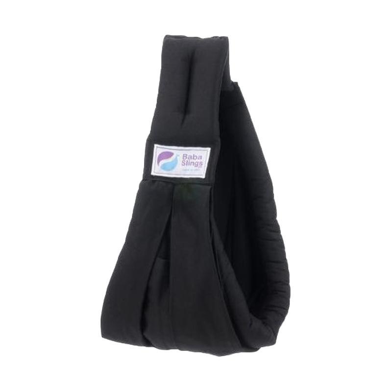 Baba Slings Standard Gendongan Bayi - Black