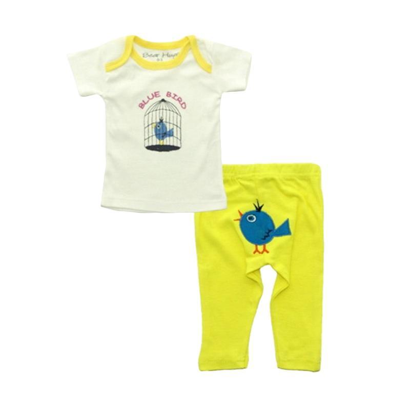 Bearhug Baby Girl Bird Set Pakaian Anak [2 Pcs]