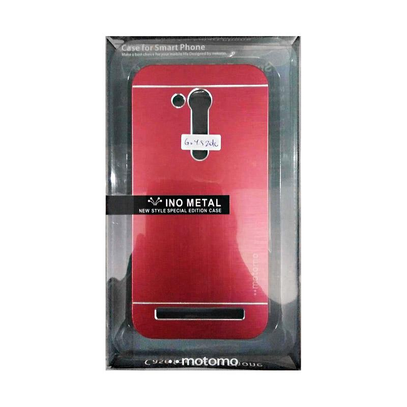 Motomo Hardcase Casing for Asus ZenFone Go 4.5 Inch 2016 - Red