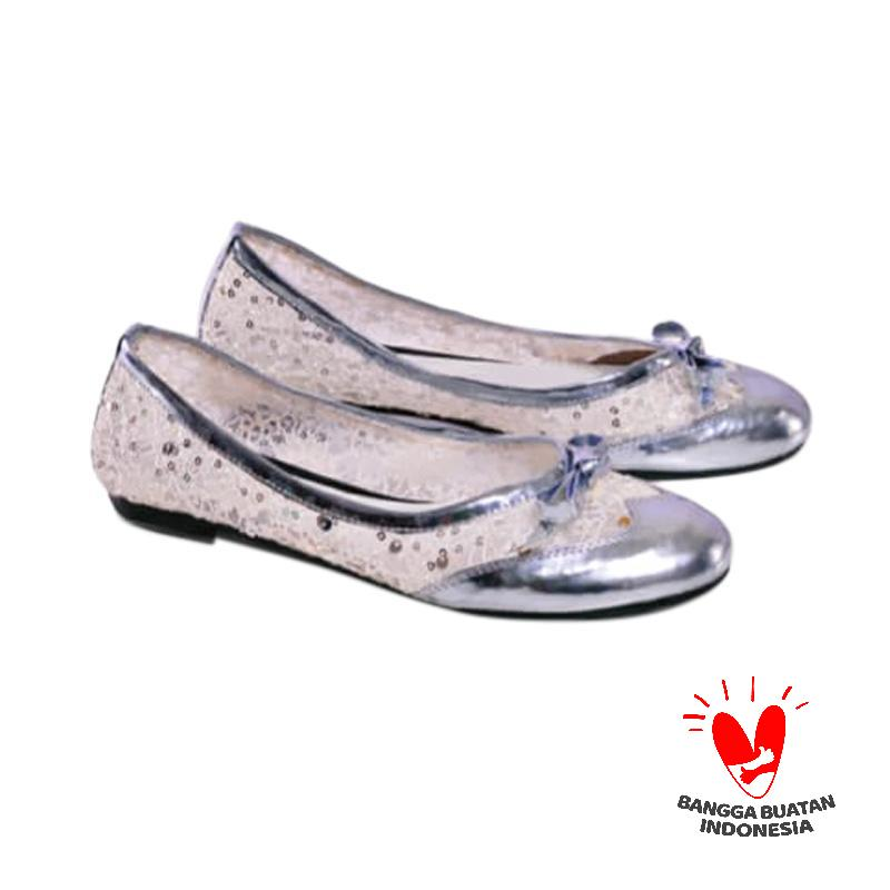 Spiccato SP 557.02 Slip On Shoes Wanita - Silver