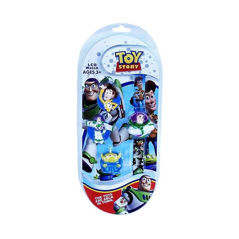 TMO LCD Watch 3 Toy Story Jam Tangan Anak