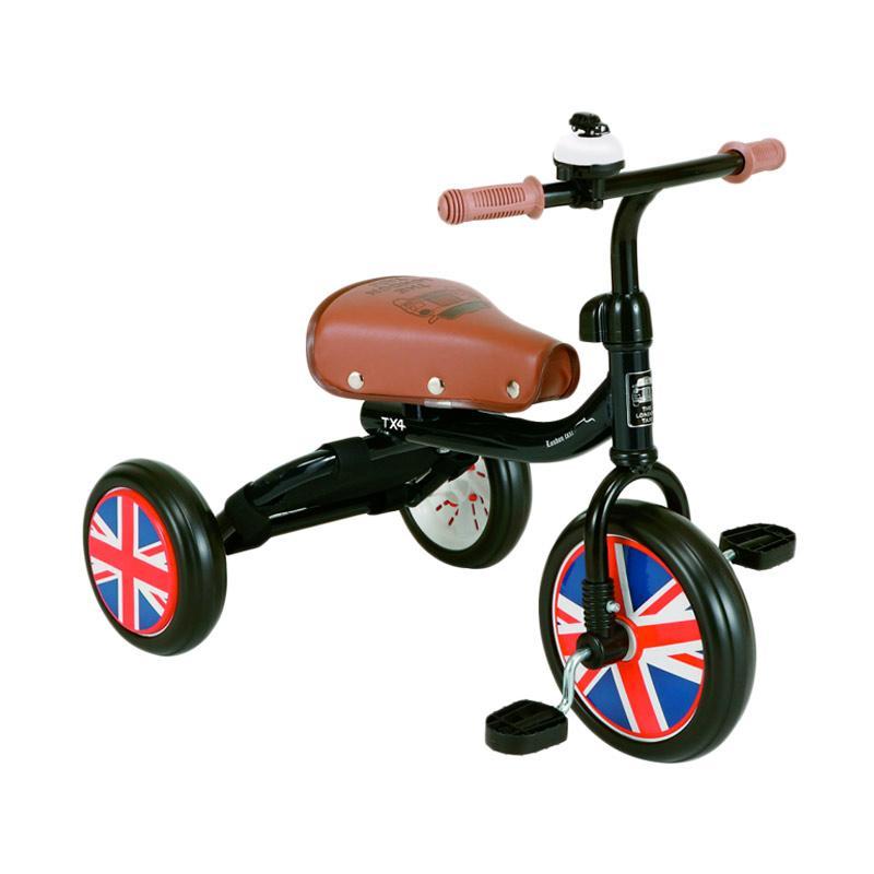 London Taxi Trike Sepeda Anak - Black