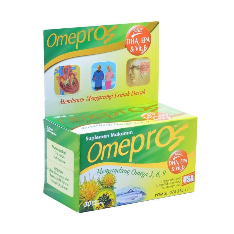 harga Omepros Multivitamin dan Supplement Kesehatan [30 Cpasules] Blibli.com