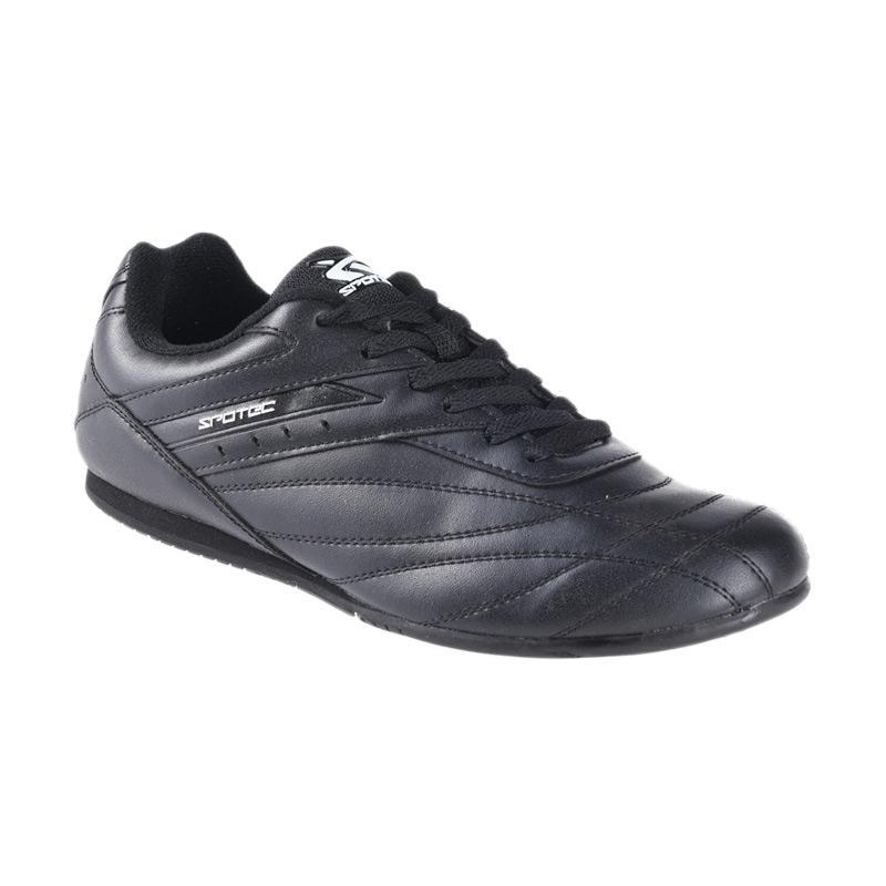 Spotec Corner Lace Corner Sepatu Olahraga - Black 2