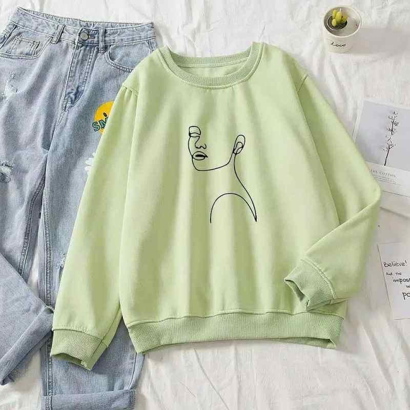 Jual Morastore Aesthetic Sweater Wanita Korean Sweater Online April 2021 Blibli