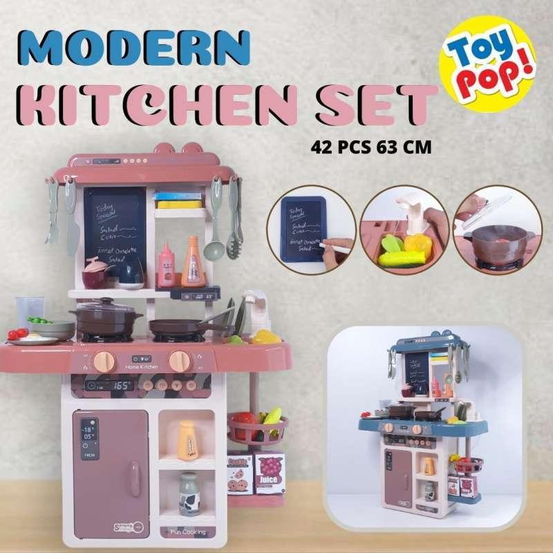 Mainan masak masakan Modern Kitchen