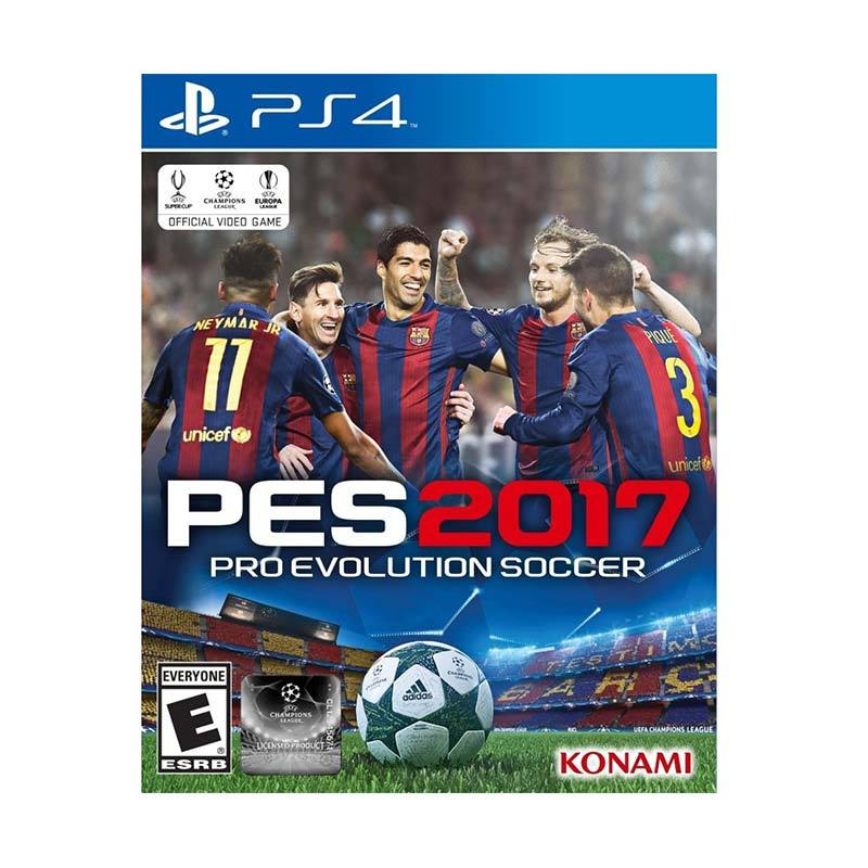 SONY Playstation 4 PES 2017 Basic Game