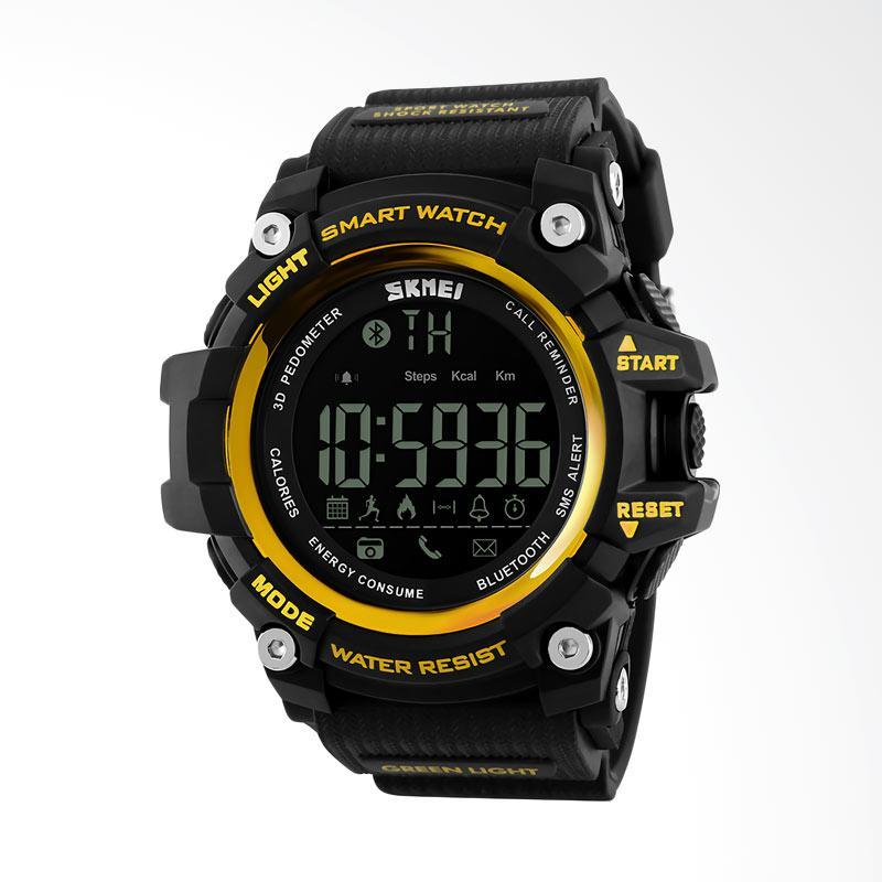 Skmei Smartwatch Jam Tangan Pria - Hitam 1227-C