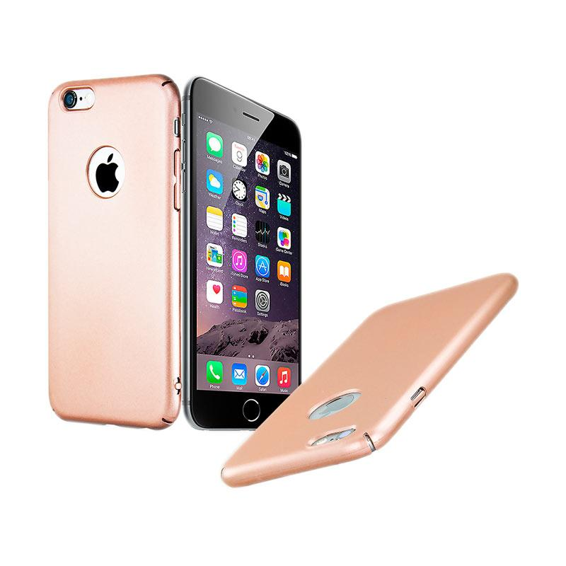 Fashion Baby Skin Ultra Thin Hardcase Casing for iPhone 6s - Rose Gold