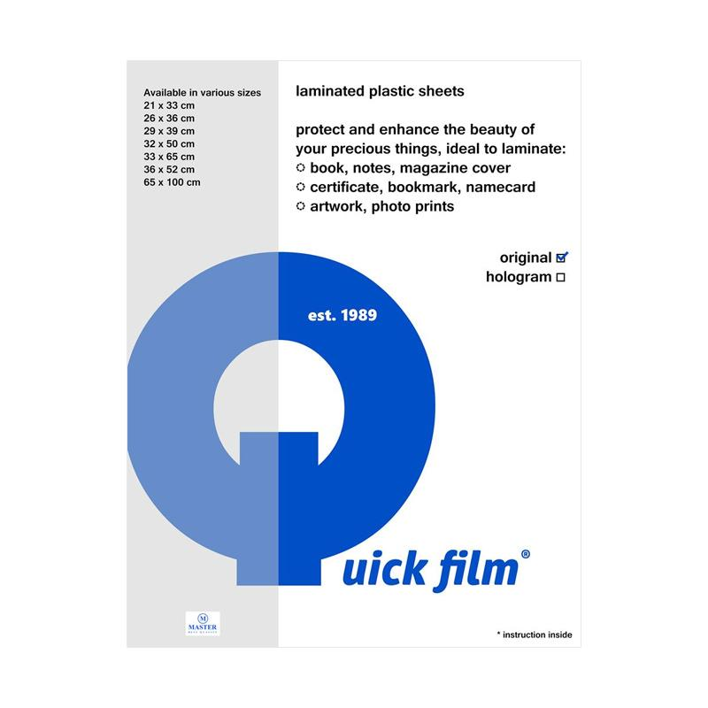harga Quick Film Laminating Hologram Sampul Plastik [21 x 33 cm] Blibli.com