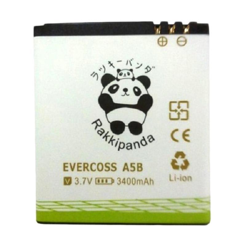 RAKKIPANDA Double Power IC Battery for Evercoss A5B