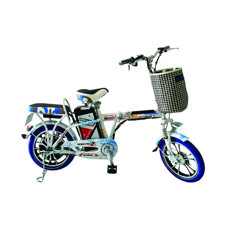 harga Electric Bike Super Rider Type Saturnus Sepeda Lipat Listrik - Micai Blibli.com