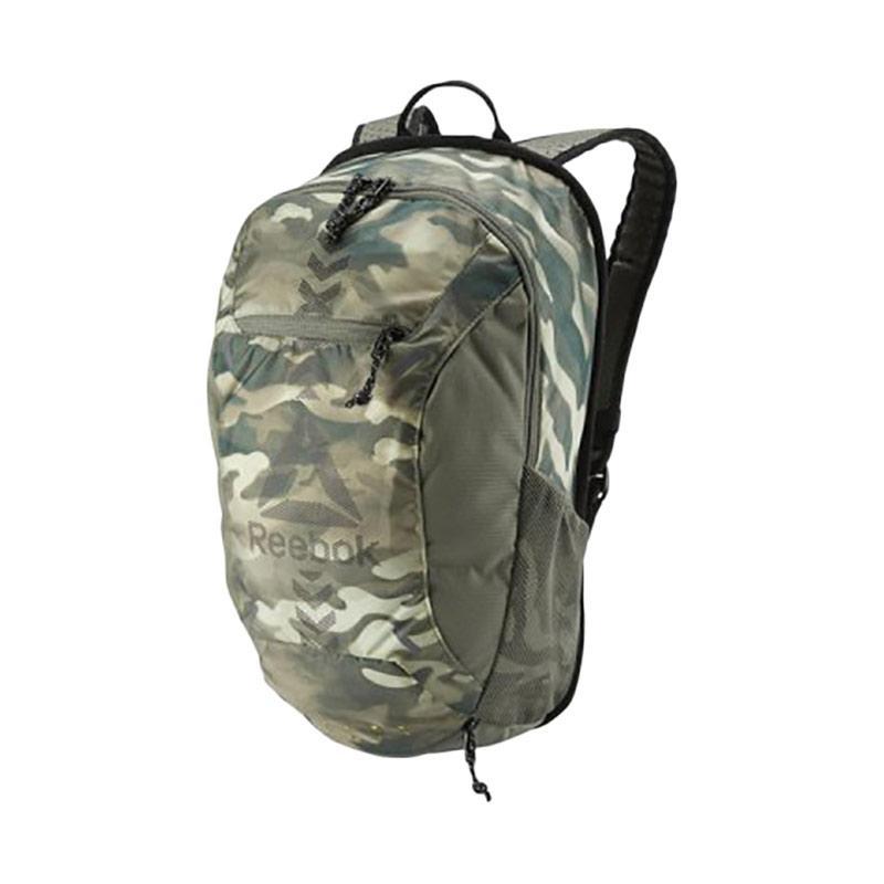 Reebok OS U GRIP BP Backpack Tas Ransel Pria - Green Army BK6234 [24 L]