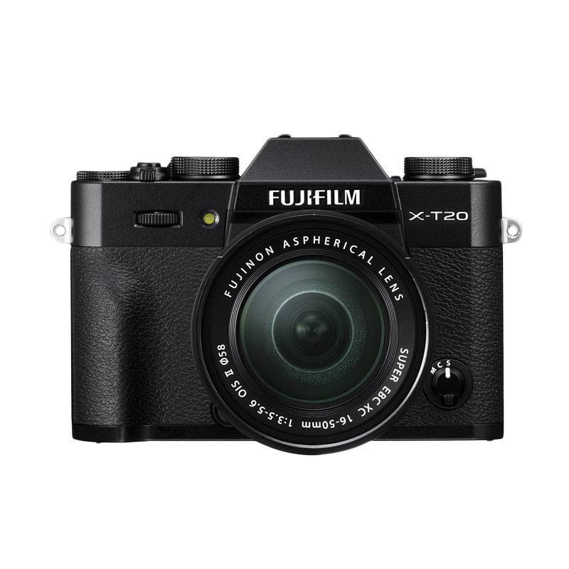 Fujifilm X-T20 16-50mm F3.5-5.6 OIS Kamera Mirrorless ( RESMI PT FUJIFILM INDONESIA )