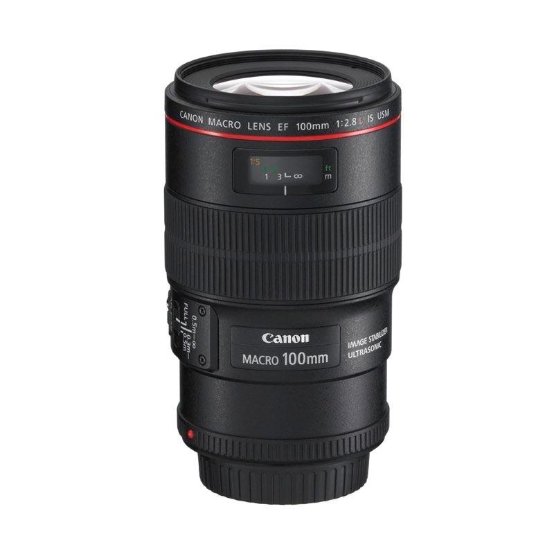 Canon Lensa EF 100mm f/2.8 L IS USM Macro