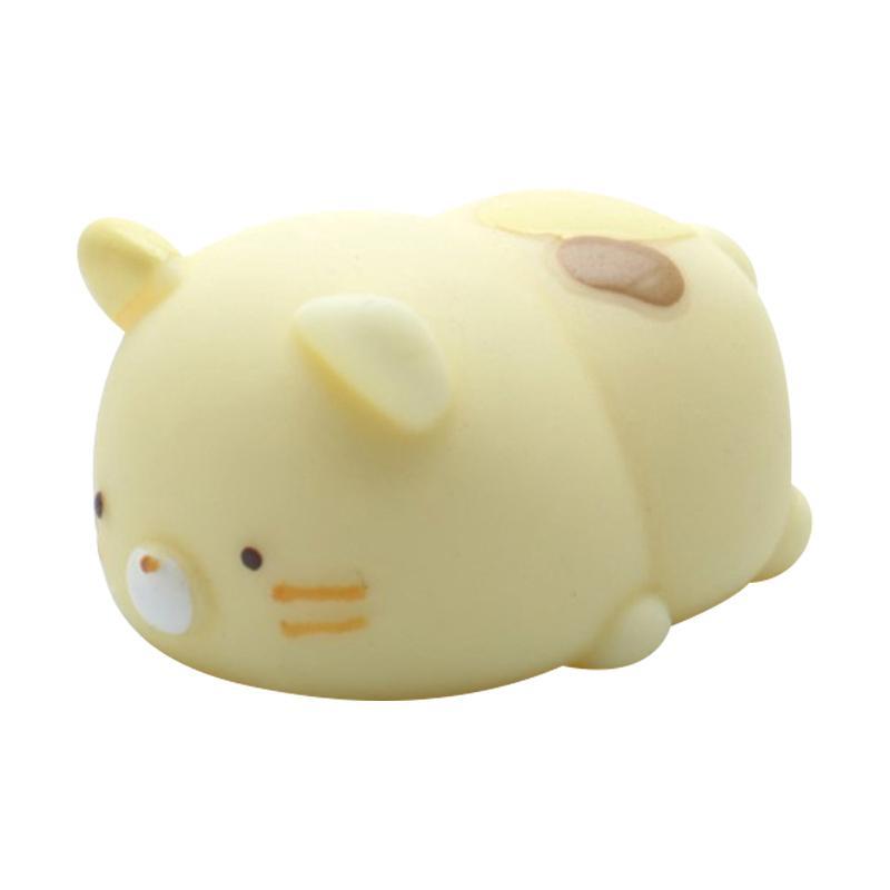 Han MoniMoni Squishy Scented Original Korea Cat - Kuning