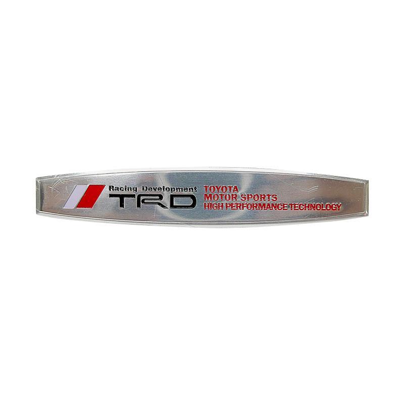 SIV EMB-TRD03 TRD Sportivo Oval Universal Emblem