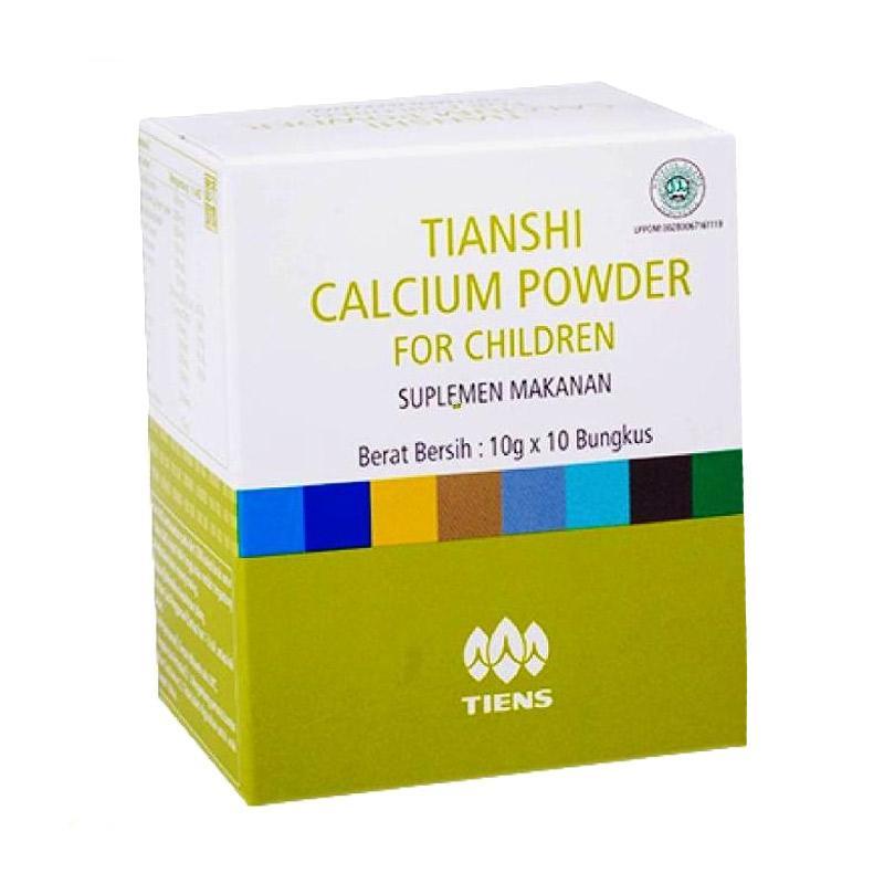 TIENS Calcium Powder for Children Suplement 10 Saset