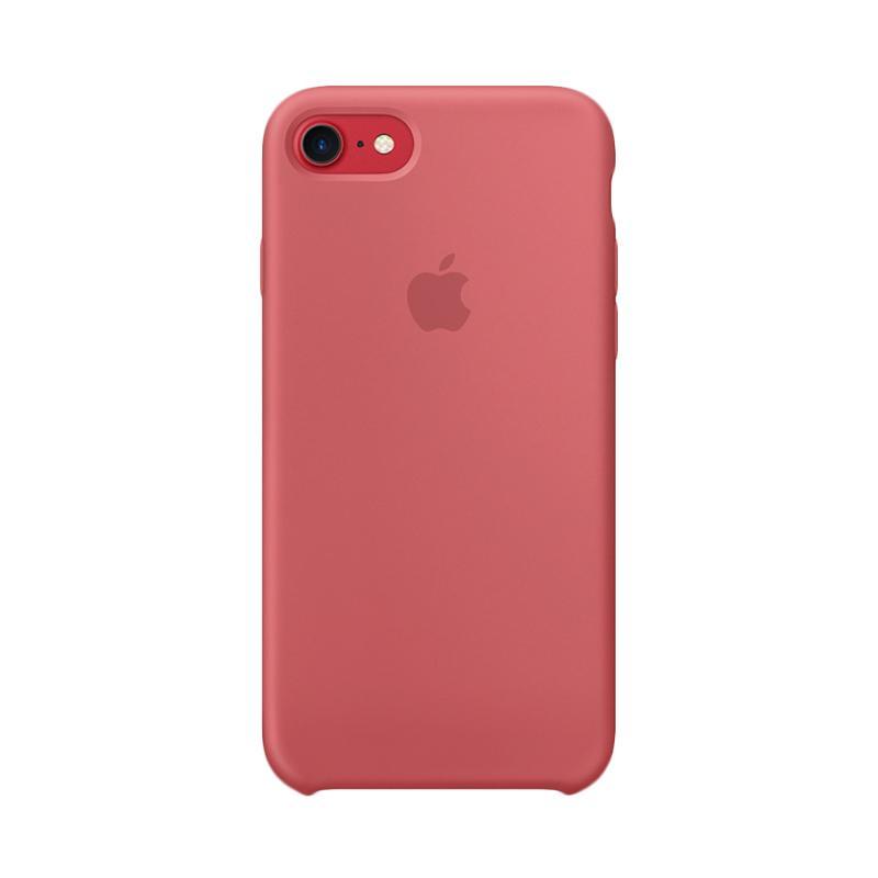 Apple Original Silicone Casing for iPhone 7 - Camellia