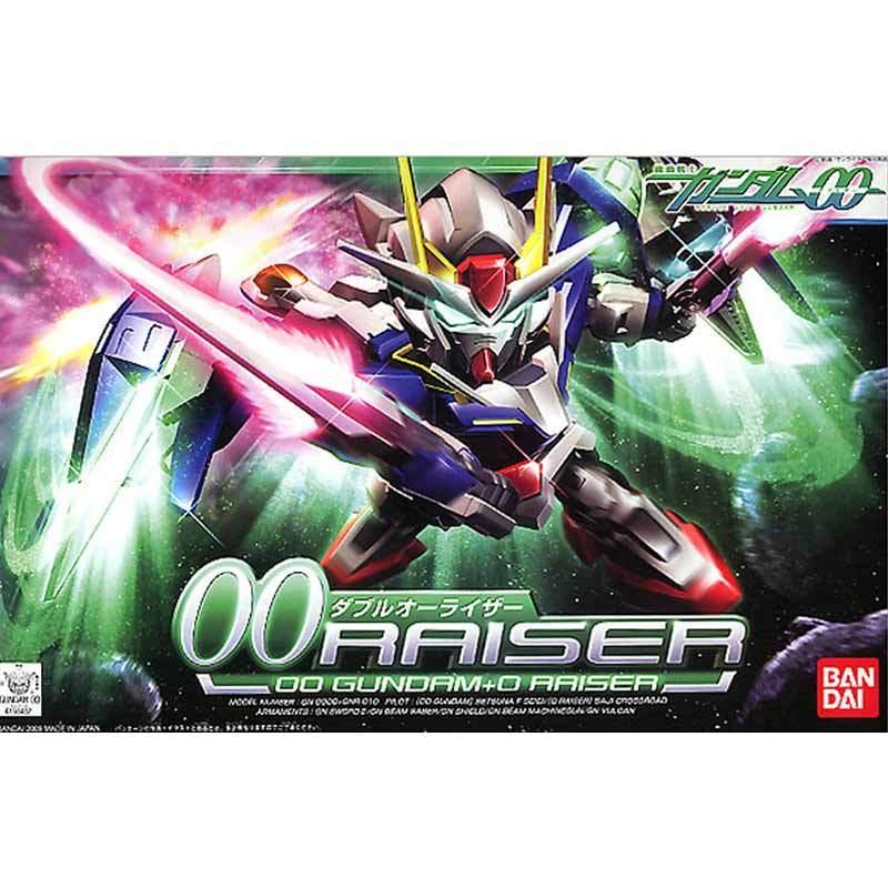 Bandai SD GN-0000+GNR-010 00 Raiser Model Kit [Skala:Super Deformed]