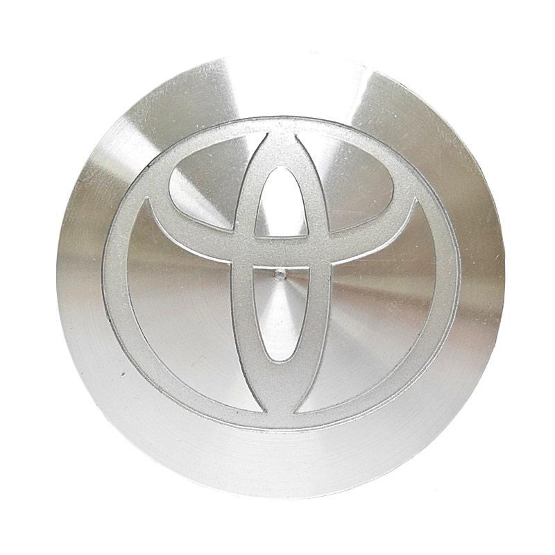 SIV DOP-01006 Logo Toyota Set Dop Velg Mobil for Kijang Krista [4 pcs]