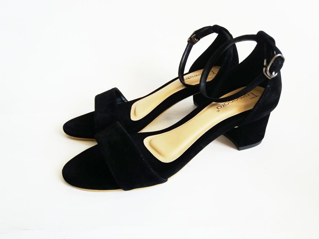 Tamanara Mashel Mid Low Heels Wanita - Black