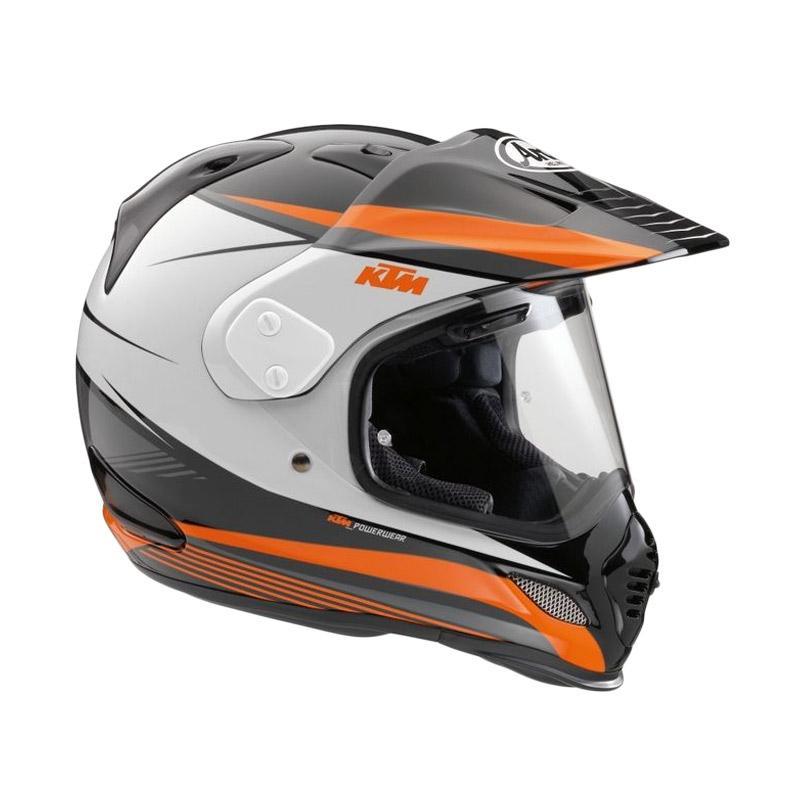 harga Arai KTM Tour Cross X4 Helm Full Face - White Orange Black Blibli.com