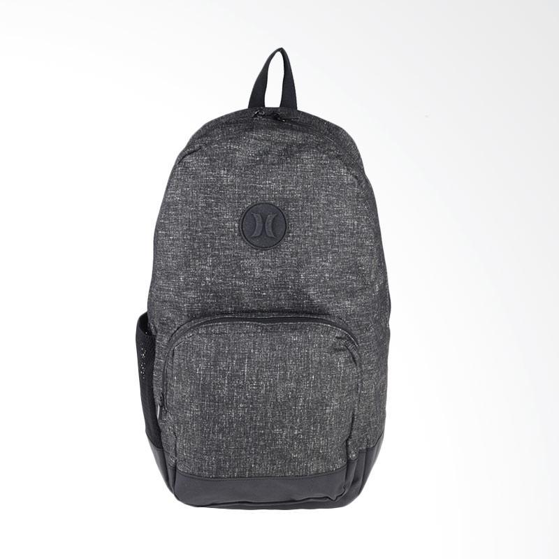 Hurley Blockade Heather Bag Backpack Pria - Black ZQ052_020