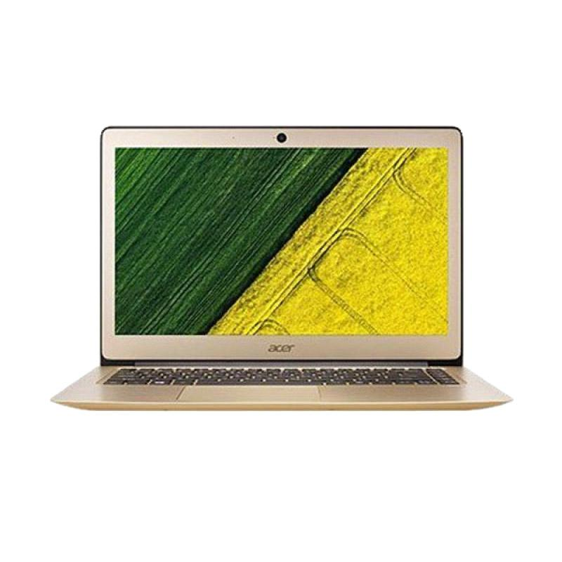Acer Swift 3 Notebook - Gold [14 Inch/ i5-7200U/ 4 GB/ Dos]