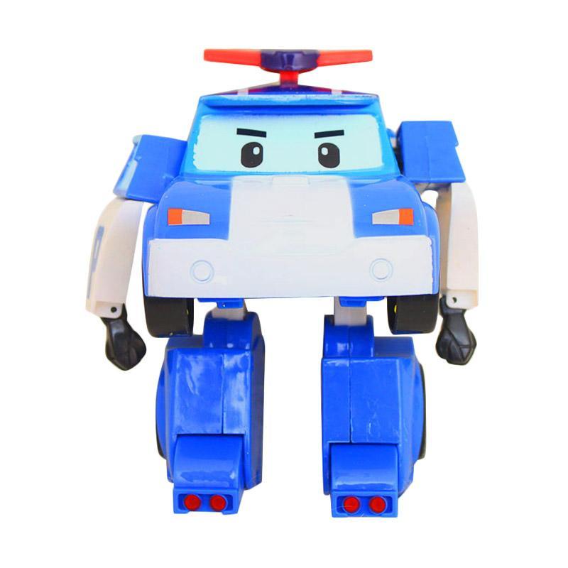 Istana kado IKO00795 Robopoli Robot Poli Single L Mainan Anak - Biru