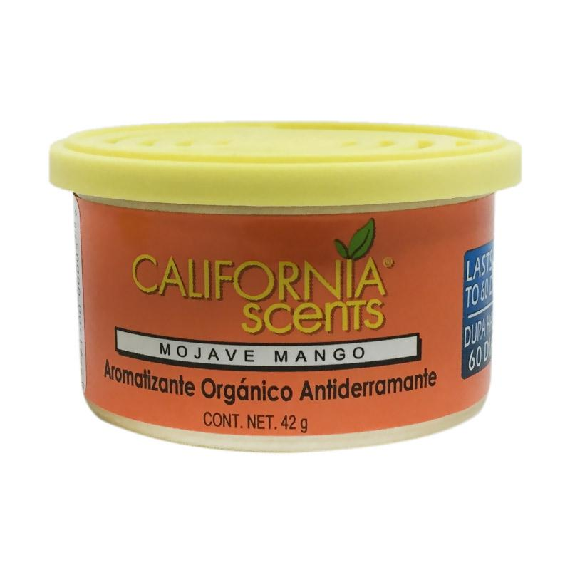 California Scents Mojavo Mango Spillproof Organic Car Air Freshener Parfum Mobil