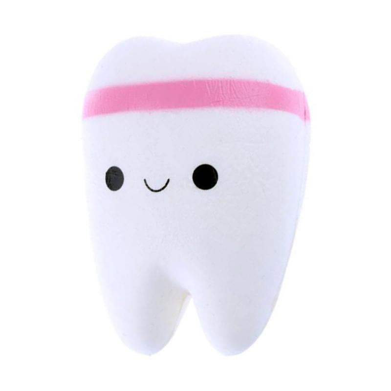 Mainan Edukasi Gigi I Love Teeth Squishy