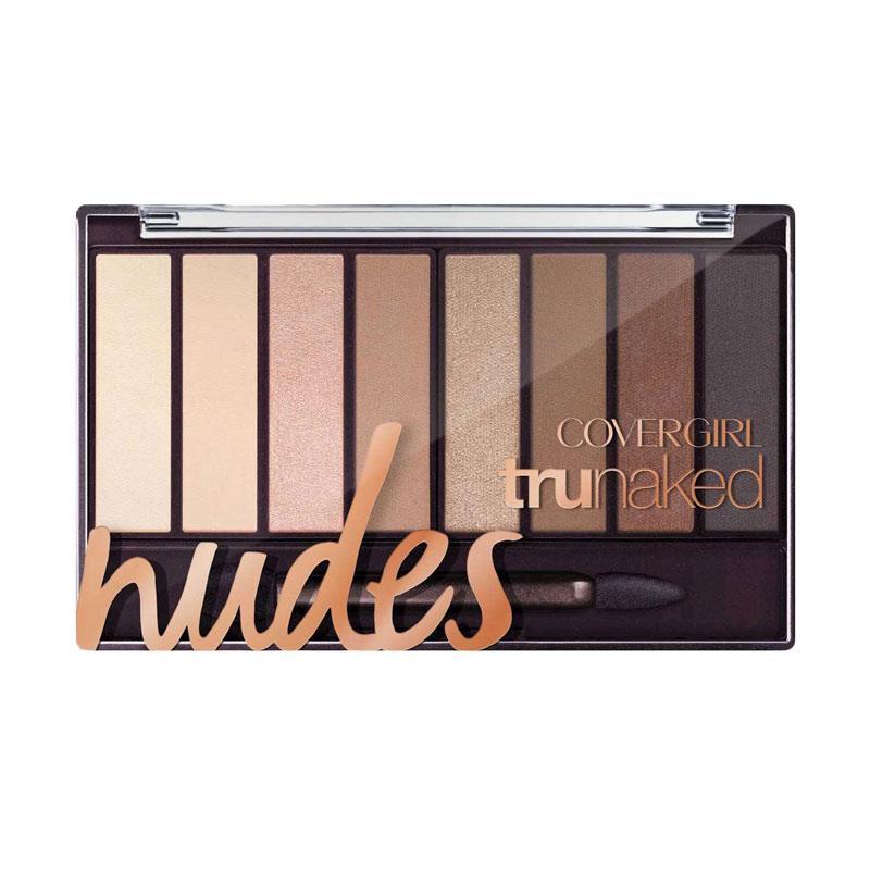 CoverGirl Tru Naked Eyeshadow Palette - nudes