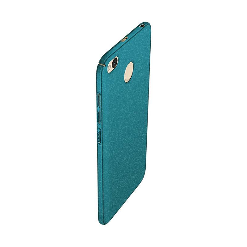 WEIKA Sand Scrub Ultra Thin Hardcase Casing for Xiaomi Redmi 4x - Green Green