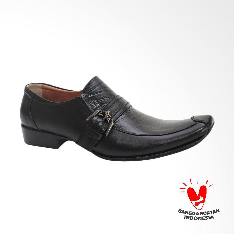 GRUTTY Sepatu Formal Pria - Hitam GR 81043