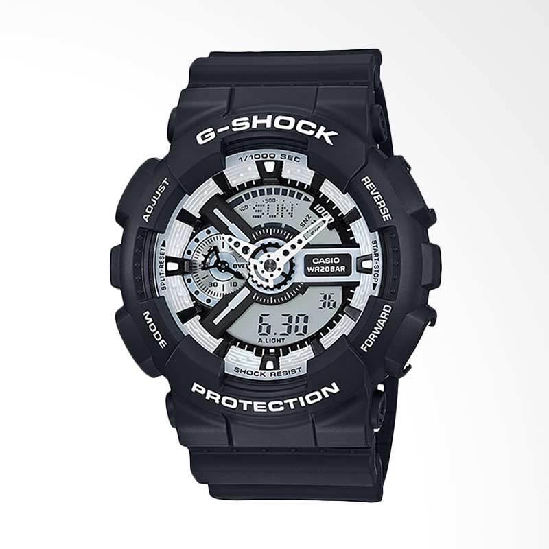 CASIO G-Shock Jam Tangan Pria - Black GA-110BW-1ADR