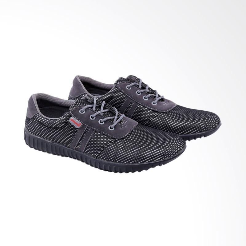 Garucci Sneakers Shoes - Black GCM 1233