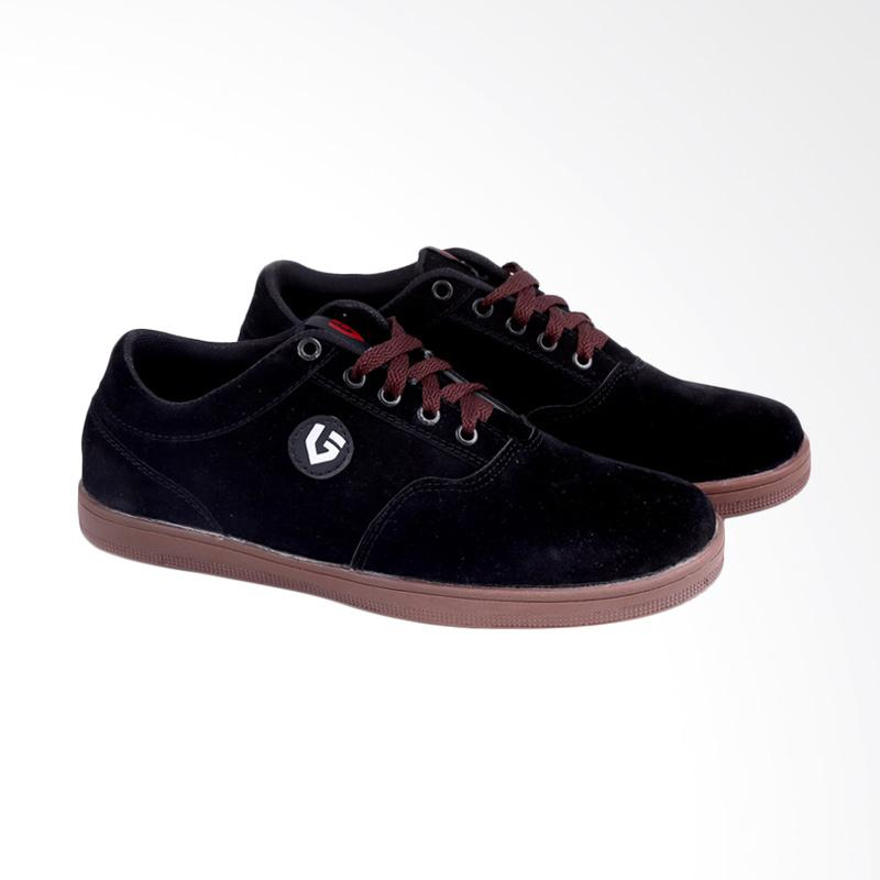 Garucci Sneakers Shoes - Black GSW 1055
